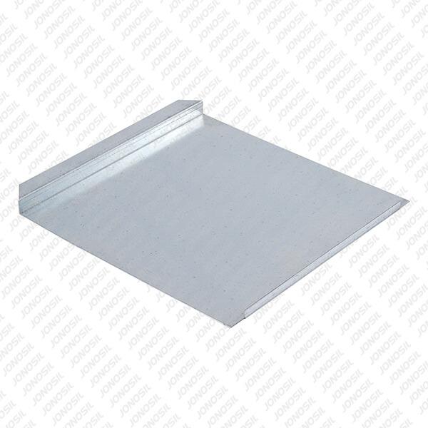Chapa de Estrado Sanitário C/ Rebordo - ch. 0,5 x 400 x 415 mm