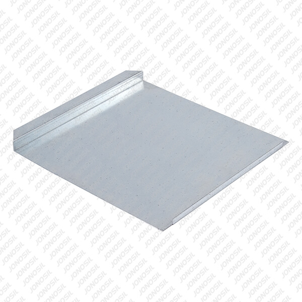 Chapa de Estrado Sanitário C/ Rebordo - ch. 1 x 400 x 415 mm
